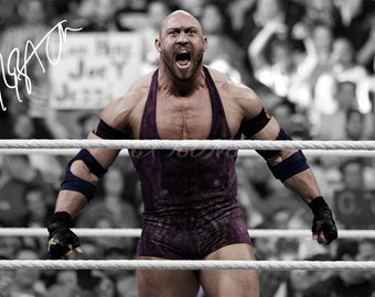 Ryback signed photo print - 12x8 inch - high quality -