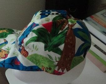 Childs Jungle design cap