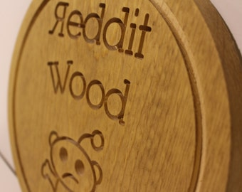 Reddit wood Coin