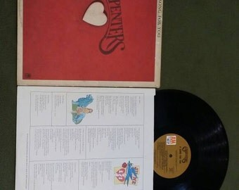 Carpenters A Song For You Vinyl LP Vintage Record