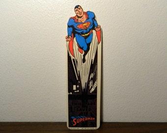 1987 Superman Bookmark