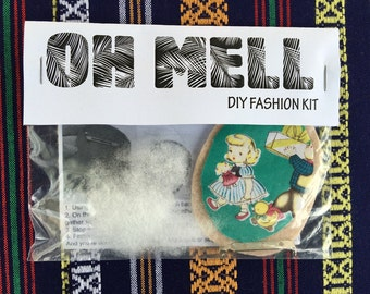 DIY Fabric Brooch