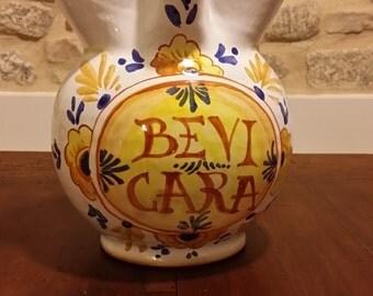 Traditional Italian pitcher