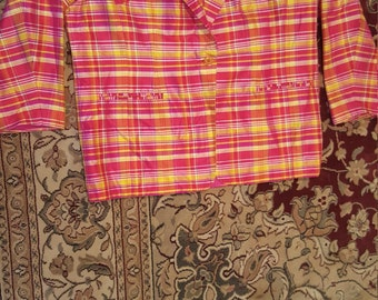 Large (16) Bright Colored Jacket.