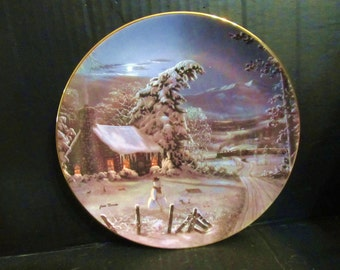 "Jesse Barnes's When All Hearts Come Home"" The Night Before Christmas "" Plate"