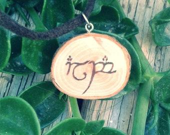 Necklace your name in elvish