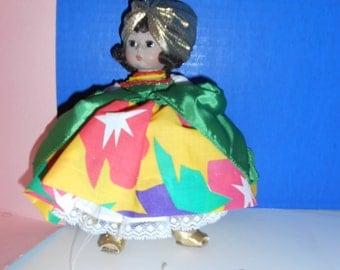 """Madame Alexander Brazil Doll No. 530 , 8"""""""