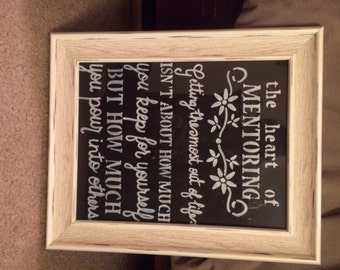 Picture Quote Hand Made