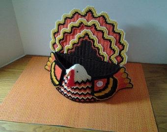Cute Holiday Festive Turkey Table Centerpiece