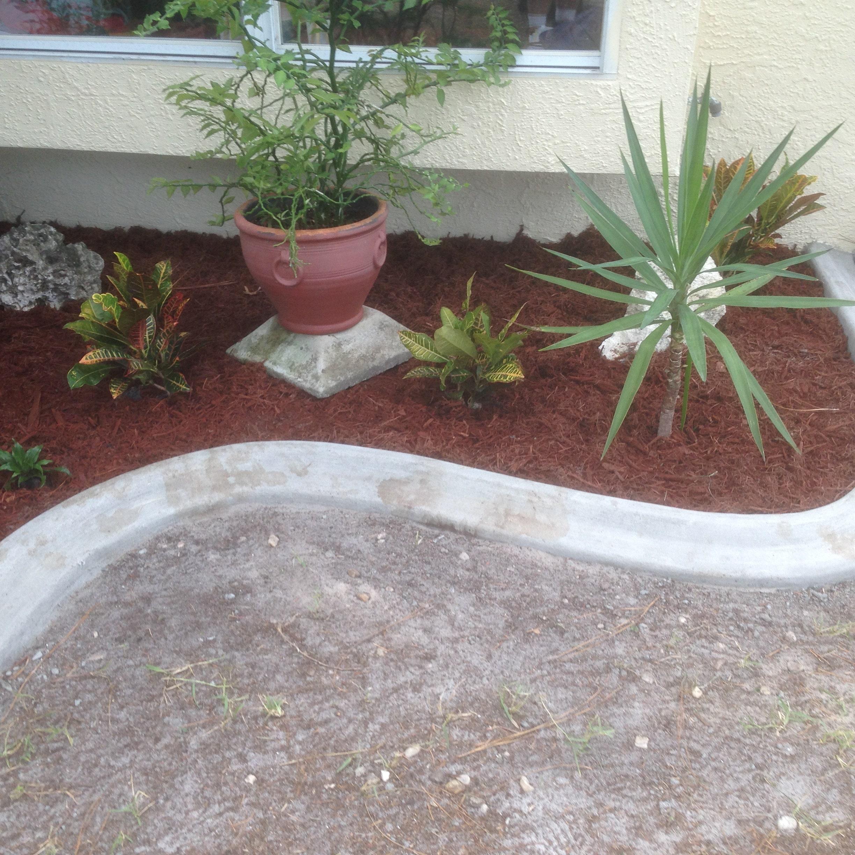 Diy Lawn Edging Ideas: DIY Custom Concrete Curbing And Landscape Edging By