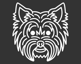 Yorkshire Terrier Decal GD131