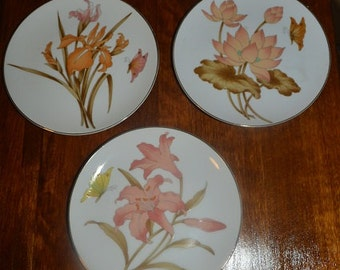 Decorative plates (1 set of 3)