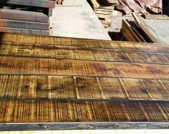 Farm table, Reclaimed wood tables