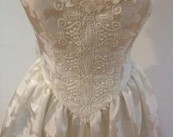 Vintage White Scott McLintock Wedding/Prom Dress