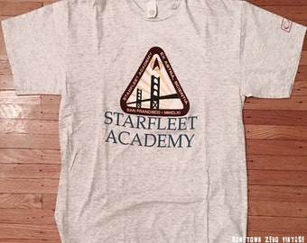 Star Trek TNG Vintage Star Fleet Academy 1992 Shirt XL