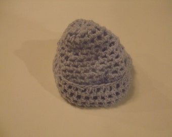 Crochet hat for newborn shoot