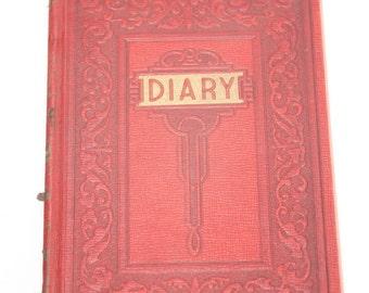 Vintage 1945 Blank Diary