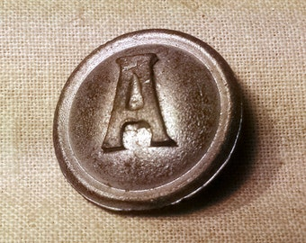 Civil War Confederate Artillery Button 7/8""