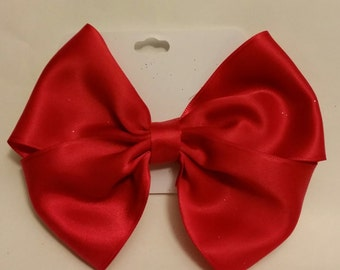 Womens Satin Hairbow (5in)