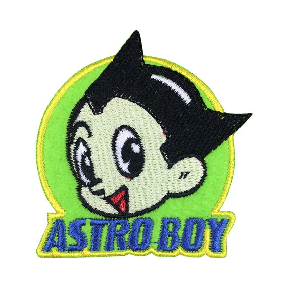 Astro Boy Patch Iron On Patches By ForCrossStitch On Etsy