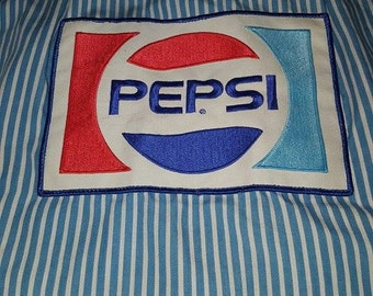 Vintage Pepsi Delivery drivers shirt