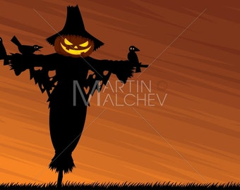 Scarecrow Background