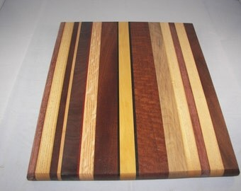 Large Wood Cutting Board / Serving Board [100_1507]