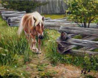 The Workhorse Original Painting Acrylic