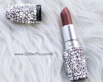 Brand New MAC Lipstick with Swarovski Rhinestones - Crystal AB