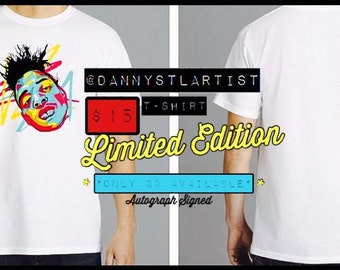 DannySTLArtist Limited Edition T-Shirt.