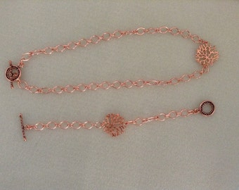 Modern Copper Branch Set