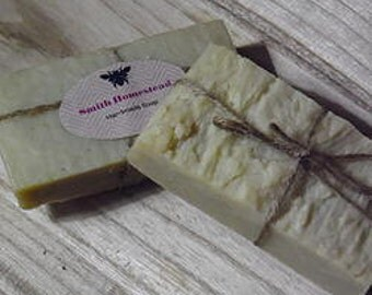 Olive Oil and Beeswax Soap