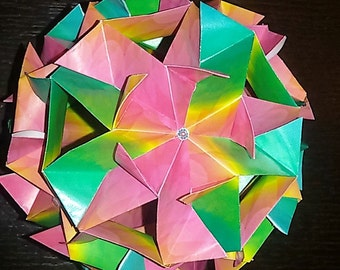 kusudama hypnose/door/decorations birthday gift/origami/christmas ball