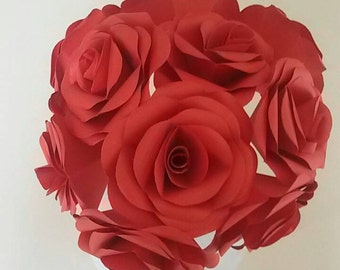 origami paper roses/rose/paper roses/flowers/price for one piece