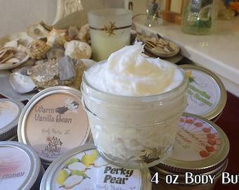 Body Butter X 4 oz Jar
