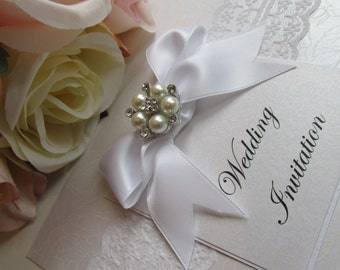 Pure Wedding invitation