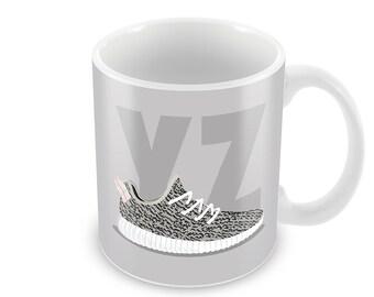 Yeezy Boost 350 Turtle Dove SneakPrints 11oz & 15oz Mug
