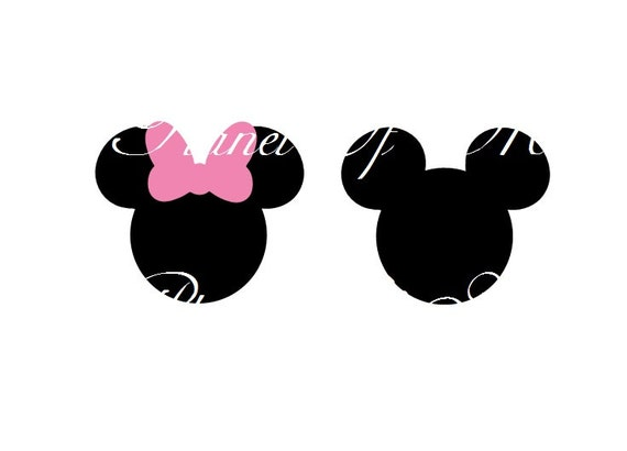 Mickey Mouse Svg File Minnie Svg Vinyl Cutting File Minnie