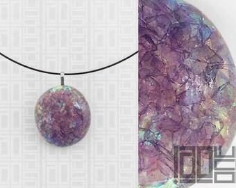 Handmade unique - LaoOne - bright purple