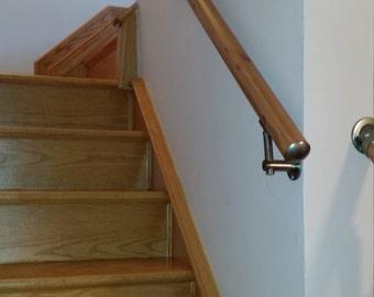 Wall Mount Modern Stair Hand Rail Staircase Railing Kit   Aluminium