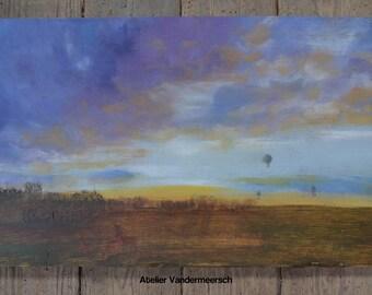 Sky in the Beauce region 4/4