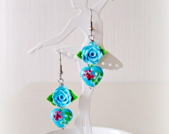 Earrings Say it with Flowers