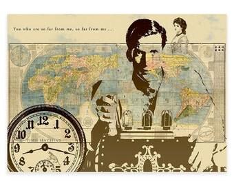 Time Machine Print