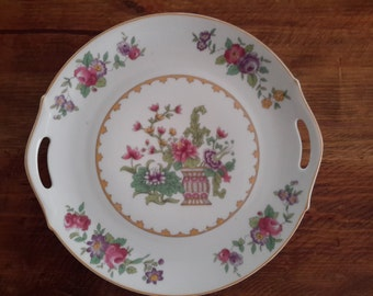 Vintage China Cake Plate by Z.S. & C. BAVARIA