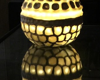 Organic style lamp/candleholder