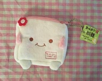 Kawaii Tofu plush coin purse