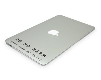 Do No Harm (But Take No Shit) Decal, Decal Quote, Buddhist Decor, Wall Quotes, Buddhist Art