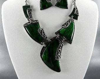 Fashion Silver Plated Funky Necklace