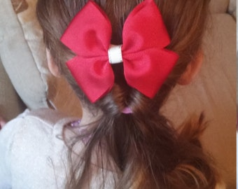 Rich Red Boutique Bow