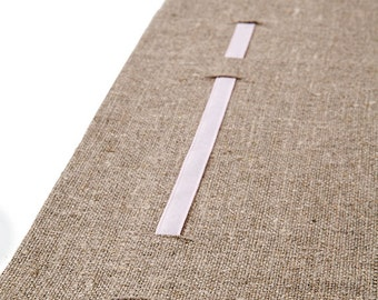 Table Runner Unbleached Natural Linen